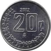 20 centavos (petit module) -  revers