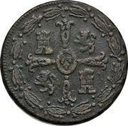 "⅛ Real ""Tlaco"" - Ferdinand VII – revers"