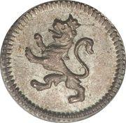 ¼ real - Carlos IV / Ferdinand VII (monnaie coloniale) – revers