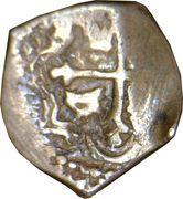 ½ Real - Carlos II – revers