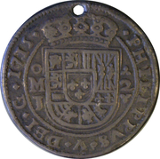 2 Reales - Felipe V (Royal Coinage) – avers