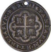 2 Reales - Felipe V (Royal Coinage) – revers