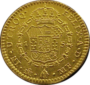1 Escudo - Carlos III (Colonial Milled Coinage) -  revers