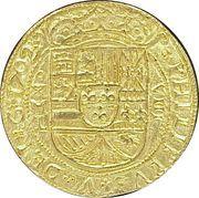 8 Escudos - Felipe V (Royal Coinage) – avers