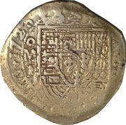 8 Escudos - Luis I (Colonial Cob Coinage) – avers