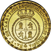14 Escudos - Fernando VII (Proclamation coinage) – avers
