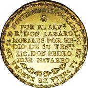 14 Escudos - Fernando VII (Proclamation coinage) – revers