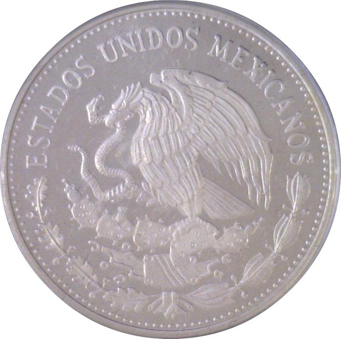 50 pesos coupe du monde de football 1986 mexique numista - Coupe du monde mexique 1986 ...