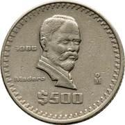 500 pesos -  revers