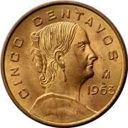 5 centavos (grand module) -  revers