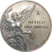 1 Onza - Mexico Año 2000 (Silver Bullion Coinage) – revers
