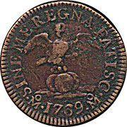 ½ Grano - Carolus III (modèle) – avers