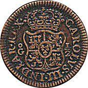 ½ Grano - Carolus III (modèle) – revers