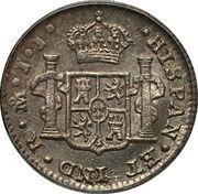 ½ Real - Fernando VII – revers