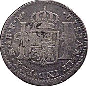 1 Real - Carlos IV (Colonial Milled Coinag) – revers