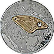 "1 Onza ""Ruta Monarca"" (Monarch butterflies) – avers"