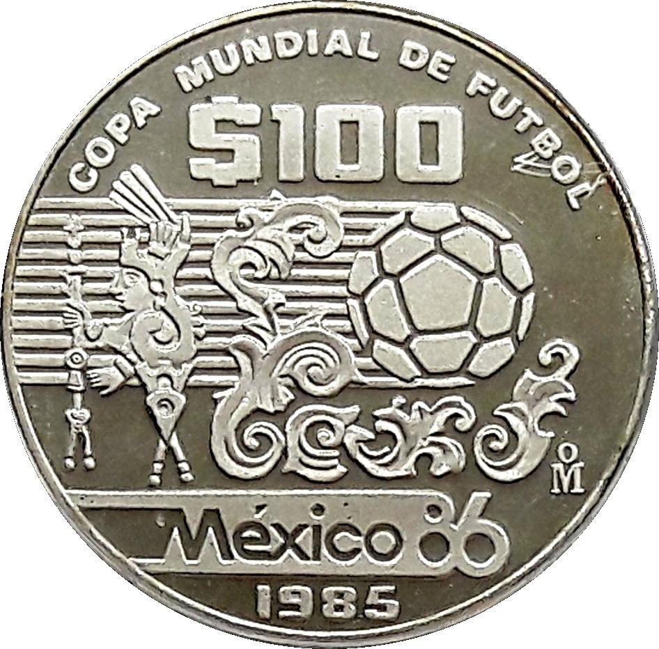 100 Pesos Mexique Numista