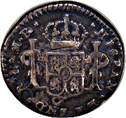 ½ Real - Fernando VII (Guadalajara - Royalist Coinage) – revers
