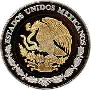 100 Pesos (Zacatecas - Gold & Silver Proof Issue) -  avers