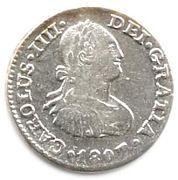 ½ real - Carlos IV (monnaie coloniale) – avers