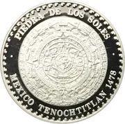 """½ Onza """"Piedra de los Soles"""" (Silver Bullion Coinage) – avers"""