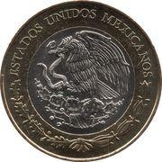 20 Pesos (Centenaire de la Constitution) -  avers