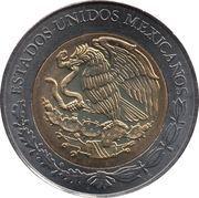 5 pesos Belisario Dominguez -  avers