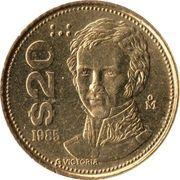 20 pesos -  revers