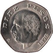 10 pesos Miguel Hidalgo -  revers