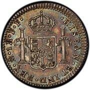 1 Real - Carlos III (monnaie coloniale) -  revers