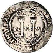 1 real - Carlos I (monnaie coloniale) – revers
