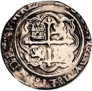 2 reales - Philip II (monnaie coloniale) – revers