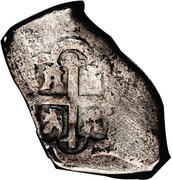 4 reales - Philip V (monnaie coloniale) -  revers