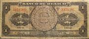1 Peso (Serie 0) – avers