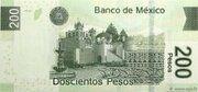 200 Pesos – revers