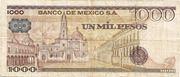 1,000 Pesos – revers