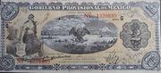 2 pesos (gobierno provisional de Mexico) – avers