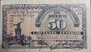 50 Centavos de Pesos (Estado libre y soberano de Mexico) – avers