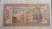 50 Centavos de Pesos (Estado libre y soberano de Mexico) – revers