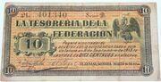 10 centavos Guayamas SONORA – avers
