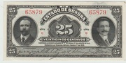 25 Centavos-Mexico-state of Sonora 1915 – avers