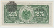 25 Centavos-Mexico-state of Sonora 1915 – revers