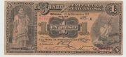 Mexico -  Revolutionary, Banco Peninsular (Merida) – avers