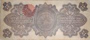 10 Pesos (Gobierno Provisional de Mexico) – revers