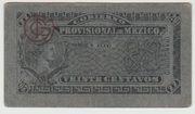20 centavos  Gobierno Provisional de Mexico – avers