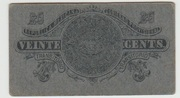 20 centavos  Gobierno Provisional de Mexico – revers