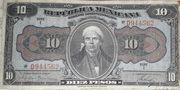 10 Pesos (República Mexicana - Gobierno Constitucionalista) – avers