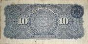 10 Pesos (República Mexicana - Gobierno Constitucionalista) – revers