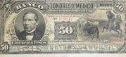50 Pesos – avers