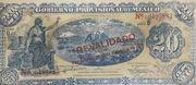 20 Pesos Gobierno Provisional de México – avers